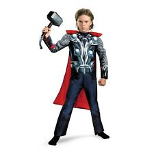 Marvel The Avengers THOR Muscle Child Costume HALLOWEEN Superhero Licensed Boys