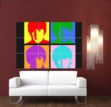 Andy Warhol The Beatles Giant XL Section Wall Art Poster M121
