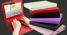 Bluetooth Keyboard Leather Case for Samsung Galaxy Tab 2 10.1 Galaxy Note 10.1