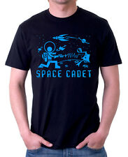 SPACE CADET T-Shirt! 50's 60's Retro Shag Style Sci-Fi Buck Rogers Lost in Alien