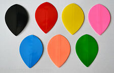 20 Sets of Plain pera forma Dart voli VARI COLORI