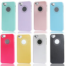 Ultra Thin Cute Sweet Heart Flower Matte Back Cover Skin For iPhone 5 5G 5S 5Gs