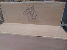 Horse mounting block, Personalised mounting steps, stable steps, Personalised