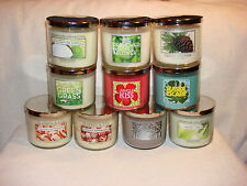 Bath Body Works Candle 14.5 oz - 3 Wick - A-L in Title - You Pick One Choice