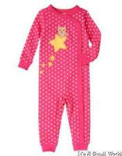 Gymboree One Piece Gymmies Pajamas PJ's Kitty Star Size 3 6 12 18 24 mo 2T NWT