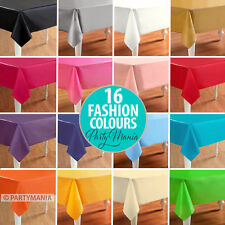 PLASTIC TABLECLOTH TABLECOVER BIRTHDAY WEDDING BABY SHOWER PARTY