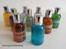Molton Brown Body Wash Shower Gel Bath Travel Size ~ variety of scents 50ml