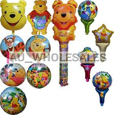 Winnie The Pooh with Tigger Eeyore Piglet Happy Birthday Balloon Party Supplies