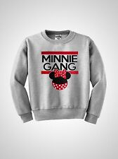 Minnie Gang crewneck dope sweatshirt Mouse illest Mickey TGOD YMCMB New S-XL NEW
