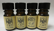 Arcana Soaps Grotesquerie Collection Limited Editions Autumn Halloween Perfumes