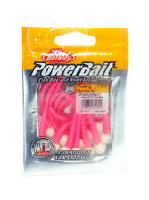 BERKLEY POWERBAIT MICE TAILS FLOATING POWER EGG TROUT WORM 13 ct  SELECT COLOR