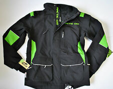 Arctic Cat Men's Black & Green Snowmobile / Winter BOONDOCKER Coat 5230-44*