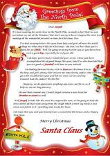 Personalised Christmas Letter From Santa