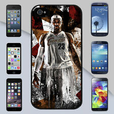 New Lebron James Cleveland Cavaliers Cavs Art iPhone & Galaxy Case Cover