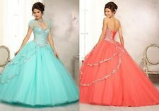 New Quinceanera Dresses Party Prom Ball Gowns Pageant Dress Custom