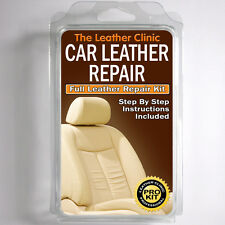 BMW Leather Repair Kit for restoring tears holes scuffs and colour dye damage.