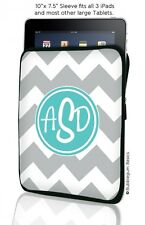 Classic Chevron CUSTOM Monogrammed Device Sleeve for iPad 1 2 3 4/Retina Kindle