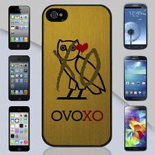New Drake OVO Weeknd XO Gold OVOXO Owl iPhone 4s 5s 5c Galaxy S3 S4 S5 Case