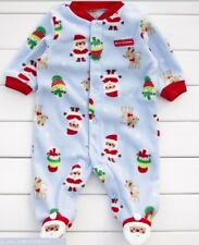 Carter's  unisex baby fleece Christmas Romper climbing clothes jumpsuit  baby113