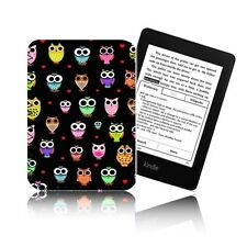 'OWLS' Retro Case For Amazon KINDLE PAPERWHITE - Neoprene Pouch, Cover UK