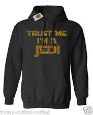 Trust Me I'm A Jedi Hoodie For Men & Ladies Unisex Star Wars Inspired  * Sale *
