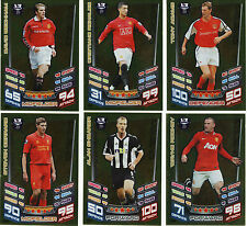MATCH ATTAX 2012 - 2013 premier league LEGEND cards + FREE BASE CARD