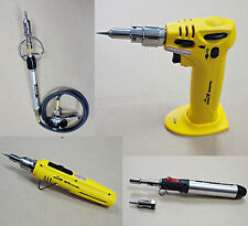 NEW KOVEA Three Functions Butane Gas Solder Soldering Iron Torch Heat-gun