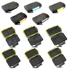 JJC Waterproof Holder Storage Memory Card Case For CF TF SD MicroSD MS  XD SXS
