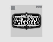 MSM Kentucky Windage Morale Patch with Velcro Backing Patch079