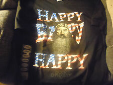 Men`s DUCK DYNASTY Graphic T shirts Uncle SI Phil Sayings Awesome Happy NEW