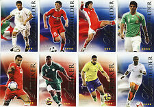 FUTERA World Football 2010 LIMITED RUBY SERIES 2 # 655 - 712 BRAND NEW CARDS
