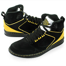 Nike Jordan Sixty Club Basketball 535790-050 Black/Yellow/Silver Men's Shoes