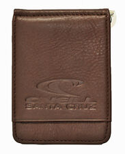 Men's Leather Money Clip Wallet. Includes 1 Line of Personalized Imprinting #121