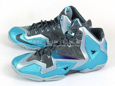 Nike LeBron XI 11 LBJ King James Basketball Armory Slate/Gamma Blue 626374-401