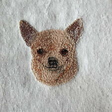 Chihuahua Dog Embroidered Towels