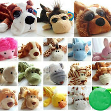 Plush Cartoon Fluffy Animal Pen Pencil Makeup Case Bag Zipper Coin Pouch Purse