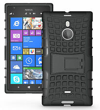 for Nokia Lumia 1520 Tough Rugged Dual Layer Hybrid Hard Kick Stand Case Cover