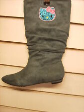 WOMENS/GIRLS HELLO KITTY  BOOTS  RECORDED DELIVERY  RECORDED DELIVERY SIZE UK4
