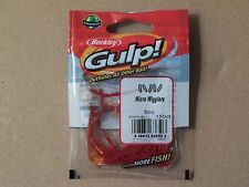 Berkley Gulp Micro Wiggler 150ct fishing bait tackle lure crappie trout panfish