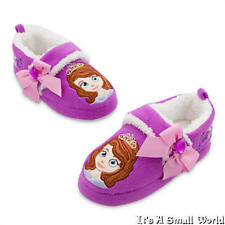 Disney Store Sofia the First Purple Sofia Slippers for Girls Size 5 6 7 8 NWT