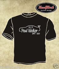 T-shirt if one day the Speed Kills Me PAUL WALKER RIP R.I.P. Skyline r34 Brian