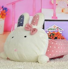 New Cute Rabbit Shape Pet Dog Cat Sofa Bed House Kennel Pink Size S