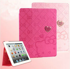Hello Kitty Lovely Cute Smart Leather Case Cover for iPad mini 1/2/3 with Retina
