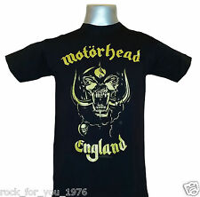 Motorhead English Classic Gold Mens T Shirt Official Merchandise All Sizes