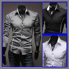 2014 Collection Mens Luxury Casual Formal Slim-Fit Stylish Dress Shirt Brand new