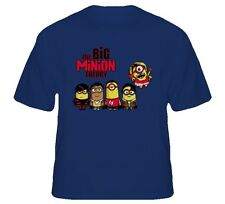 Big Minion Theory T-Shirt  Adult and Kids Sizes! Despicable Me 2 Big Bang Parody