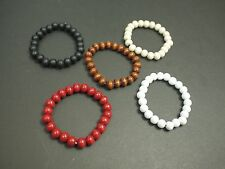 Hip-Hop Fashion Bead Rosary Bracelet good wood Free shipping