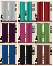 Luxury Thermal Backed Light Reducing Curtains for Bedroom - Supersoft Material