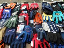 New England Patriots nfl work gloves all teams brand new one pair $9.99