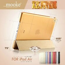 MOOKE® Ultra-Slim Leather Smart Case Cover for New Apple iPad Air 5th Retina